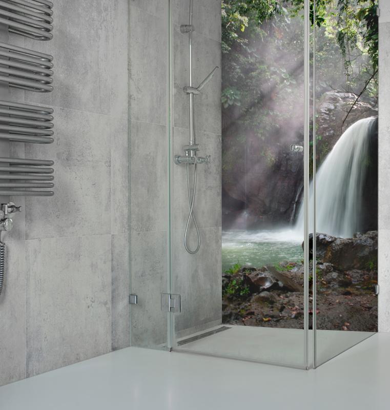 wydruki do kabiny prysznicowej
